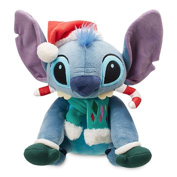 Disney Store Stitch Holiday Plush Medium Christmas 2018 New