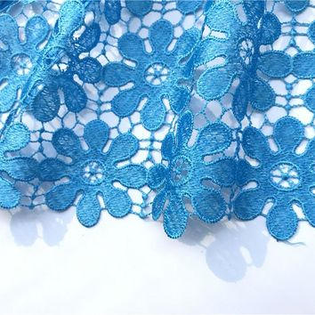 African Cord Lace Fabric For Wedding Party Dress!African Lace Fabric High Quality Embroidered Guipure Lace Fabric