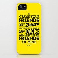 One Hit Wonder- Safety Dance in Yellow iPhone Case by Designer Ham | Society6
