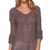 Bailey 44 Arusha Sweater in Brown