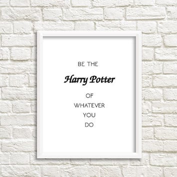 harry potter art print harry potter nursery decor harry potter decor harry potter decoration harry potter instant download harry potter kids