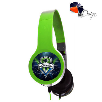 Seattle Sounders FC Headphones 2014 sp