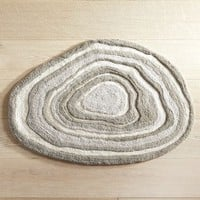Gray Agate 23x35 Bath Rug