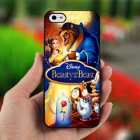 Beauty And The Beast - print on hard cover for iPhone 4/4s and iphone 5 - dont forget to leave message for device and color case