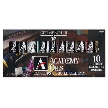 Grumbacher Academy Oil Color Sets - BLICK art materials