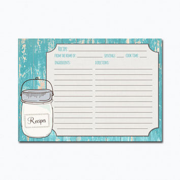 Shop Recipe Card Downloads On Wanelo
