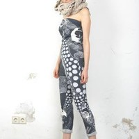 jazzkatze Kyoto Water Print Jumpsuit  - Products -         koshka
