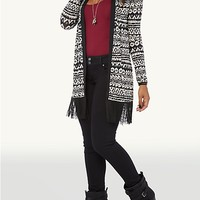 Geo Tribal Fringe Wrap