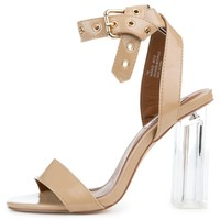 Women's Maria-23 High Heel in Nude