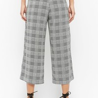Glen Plaid Culottes