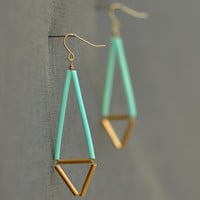 Mint Earrings...Follow me for more:)