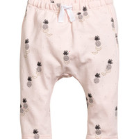 Printed Jersey Pants - from H&M