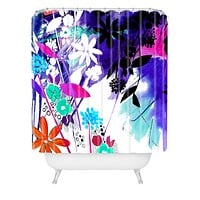 Holly Sharpe Captivate Floral Shower Curtain
