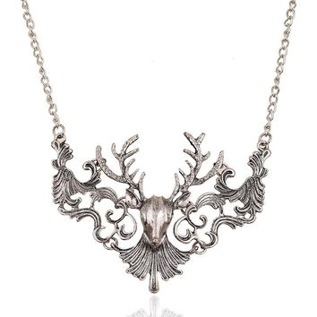 Buck Pendant Necklace