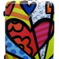 Heys USA Luggage Britto New Day 30 Inch Hard Side Suitcase