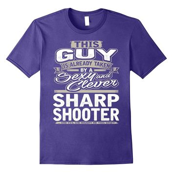 Sharp Shooter Shirt Gift For Boyfriend Husband Fiance 1
