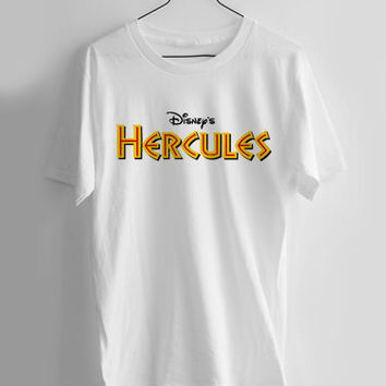 Hercules Disney T-shirt Men, Women Youth and Toddler