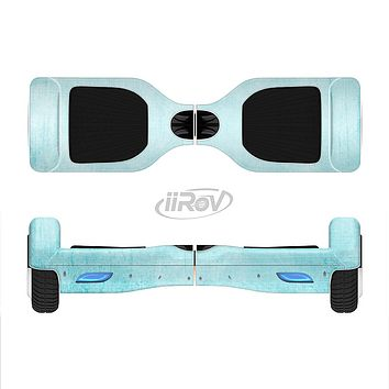 The Vintage Blue Textured Surface Full-Body Skin Set for the Smart Drifting SuperCharged iiRov HoverBoard