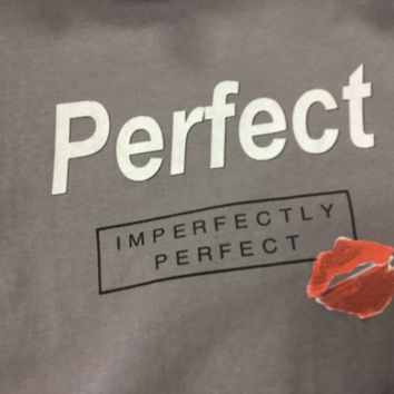 Imperfectly perfect crew neck tshirt
