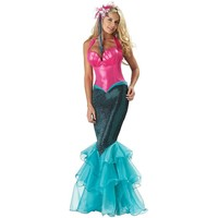 Mermaid Elite Collection Costume - Adult (Blue)
