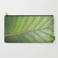 Palm Carry-All Pouch by ALLY COXON | Society6