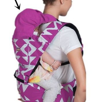 Toddler Backpack class Promotion! cotton baby carrier infant Sling Toddler wrap Rider baby carriage backpack suspenders AT_50_3