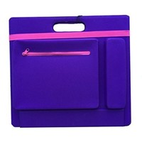 Study Space Lap / Tray Desk - Designed By Students- Pink and Purple