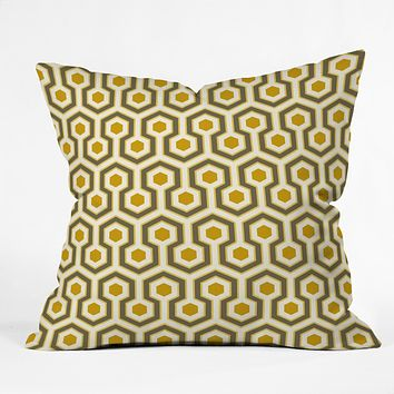 Caroline Okun Saffron Throw Pillow