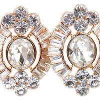 Gatsby Collection Gemstone Earrings