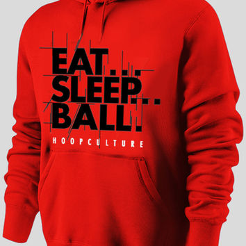 Eat... Sleep... Ball Hoodie - Hoop Culture