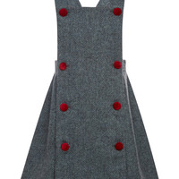 Tweed Pinafore Dress by Oscar de la Renta - Moda Operandi