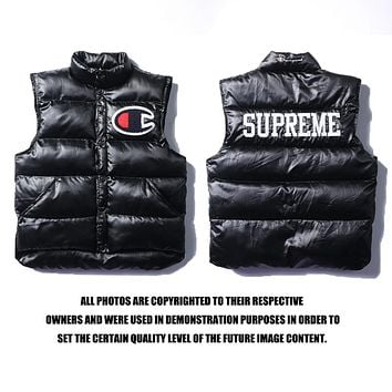 Supreme x Champion Vest Jacket M-XXL