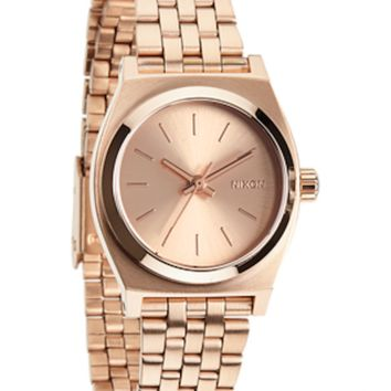 Nixon Small Time Teller- Rose Gold