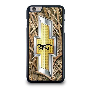 camo browning chevy iphone 6 6s plus case cover  number 1