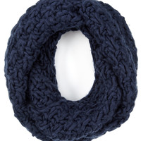 SGH Chunky Long Oversized Snood | Navy | Accessorize