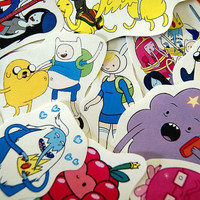 Adventure Time sticker pack  set 2 by PKPaperKitty on Etsy
