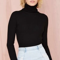 Colbie Knit Sweater - Black