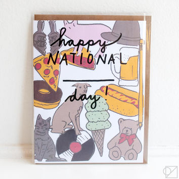 National Day Greeting Card