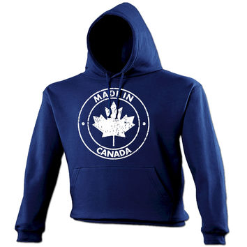 123t USA Made In Canada Funny Hoodie
