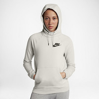 The Nike Sportswear Rally Women's Fleece Hoodie.