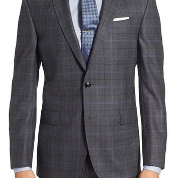 Ted Baker London 'Jay' Trim Fit Plaid Wool Sport Coat | Nordstrom