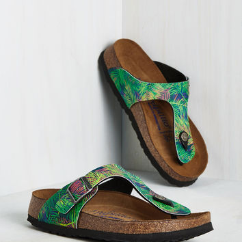 Landscape Consultation Sandal in Tropical | Mod Retro Vintage Sandals | ModCloth.com