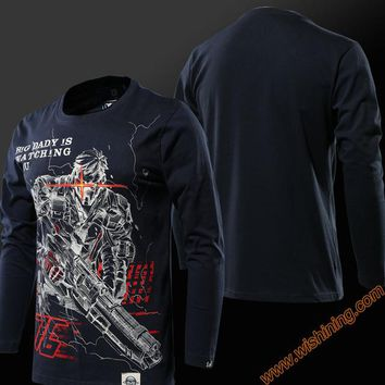 Overwatch Soldier 76 long sleeve shirt