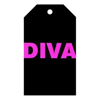 Diva Gift Tag