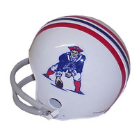 NFL Mini Replica Throwback Helmet - Patriots 65-81