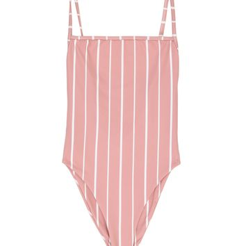 SKIN - The One Piece | Pink/White Stripe