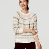 Relaxed Fairisle Sweater | LOFT