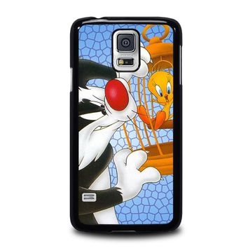 SYLVESTER AND TWEETY Looney Tunes Samsung Galaxy S5 Case Cover