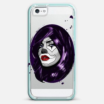 Clown Girl - Transparent iPhone 5 case by Nicklas Gustafsson | Casetify