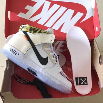 huge selection of a4bb2 cf729 Off White X Nike Dunk Sb High 36 45